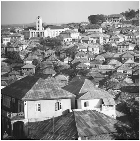 Central Ibadan, the second-largest city. Nigeria is the most densely populated country in Africa.