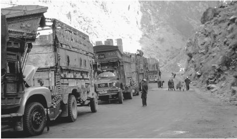 A caravan along the Silk Road.