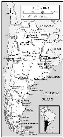 Culture of Argentina - history, people, traditions, women ... Pampas Plains Map