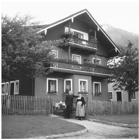 A house in the small town of Kaprun. Many rural areas of Austria are dominated by farmhouses that have been in families for years.