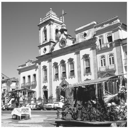 Portuguese colonialism shows its influence in large cities, with churches and market stalls converging on central plazas.