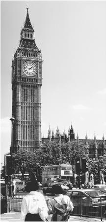 The House of Parliament and Big Ben are two of London's most famous landmarks.