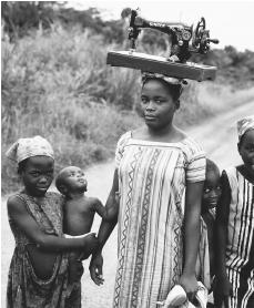 Gabon women have traditionally assumed a house-bound role.