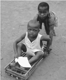 Gabon children enjoy relative freedom in their villages and start school at the age of five or six.