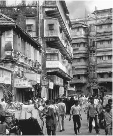 Major cities such as Bombay are considered residential creations of British administrators.