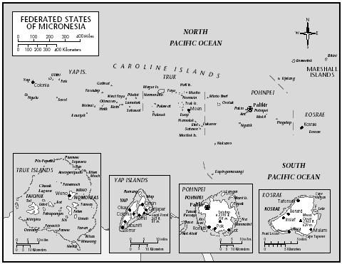 Federated States Of Micronesia. Federated States of Micronesia