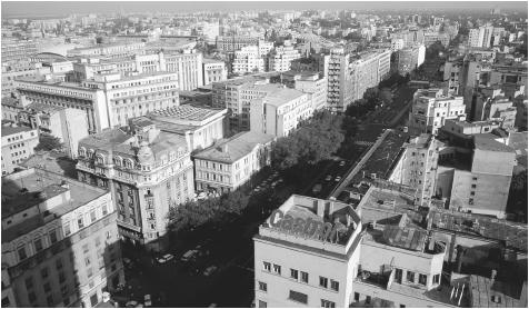 "An overview of Bucharest's varied architecture. In the 1920s and 1930s, Bucharest was called ""the Paris of the East."""