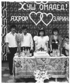 Weddings are very important in Uzbek culture, as the family is the center of society.
