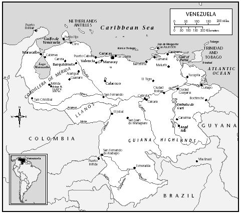 Culture Of Venezuela History People Traditions Women Beliefs - Venezuela cities small scale map