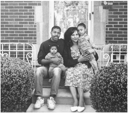 African Americans have very strong family foundations that often extend