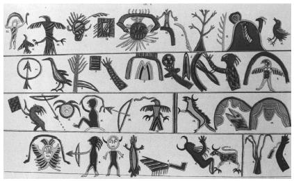 Ojibwa Indian Symbols