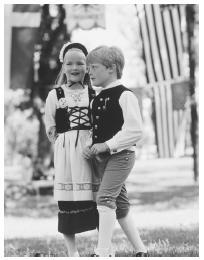 Swedish immigrant clothing